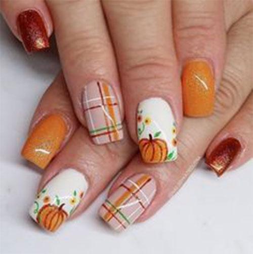 Simple-Easy-Autumn-Nail-Art-2021-Fall-Nails-2
