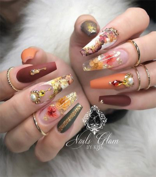 15-Trendy-Autumn-Acrylic-Nail-Art-2021-Pretty-Fall-Nails-13