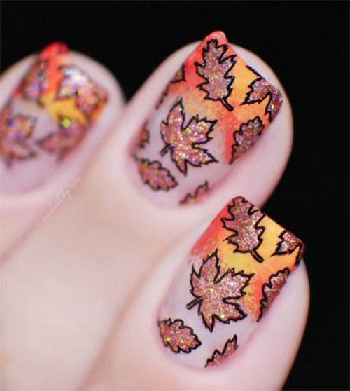 15-Trendy-Autumn-Acrylic-Nail-Art-2021-Pretty-Fall-Nails-14