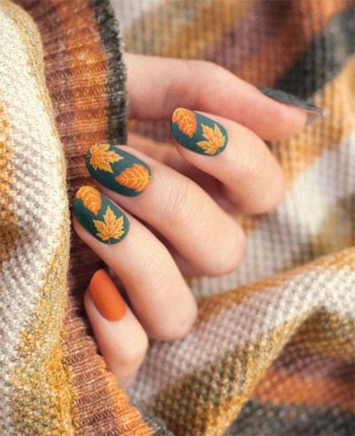 15-Trendy-Autumn-Acrylic-Nail-Art-2021-Pretty-Fall-Nails-15