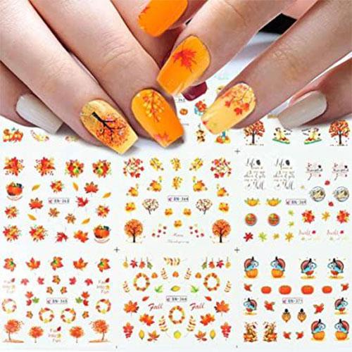 Cute-Autumn-Nail-Art-Stickers-Decals-2021-2