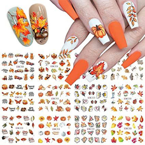 Cute-Autumn-Nail-Art-Stickers-Decals-2021-3