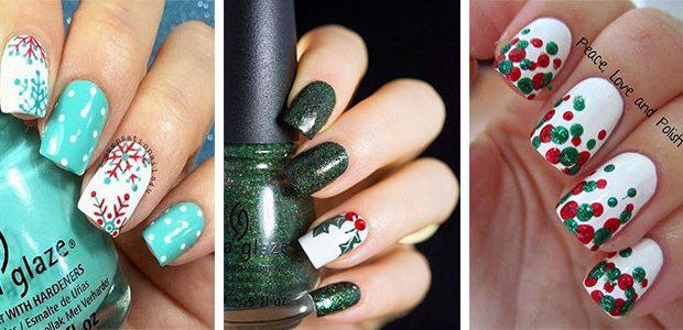 Easy & Simple Christmas Nail Art Ideas 2021   December Nails