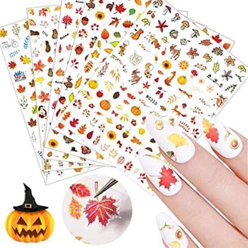 Thanksgiving-Nail-Art-Decals-Stickers-2021-6
