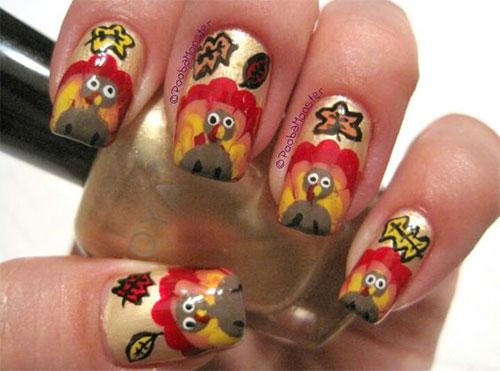 Thanksgiving-Turkey-Nail-Art-Ideas-2021-November-Nails-18