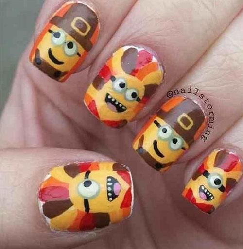 Thanksgiving-Turkey-Nail-Art-Ideas-2021-November-Nails-3